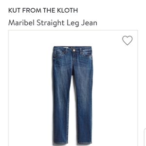 Kut from the cloth jeans